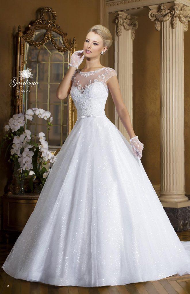 Vestidos de Noiva 215 Coleção Gardênia